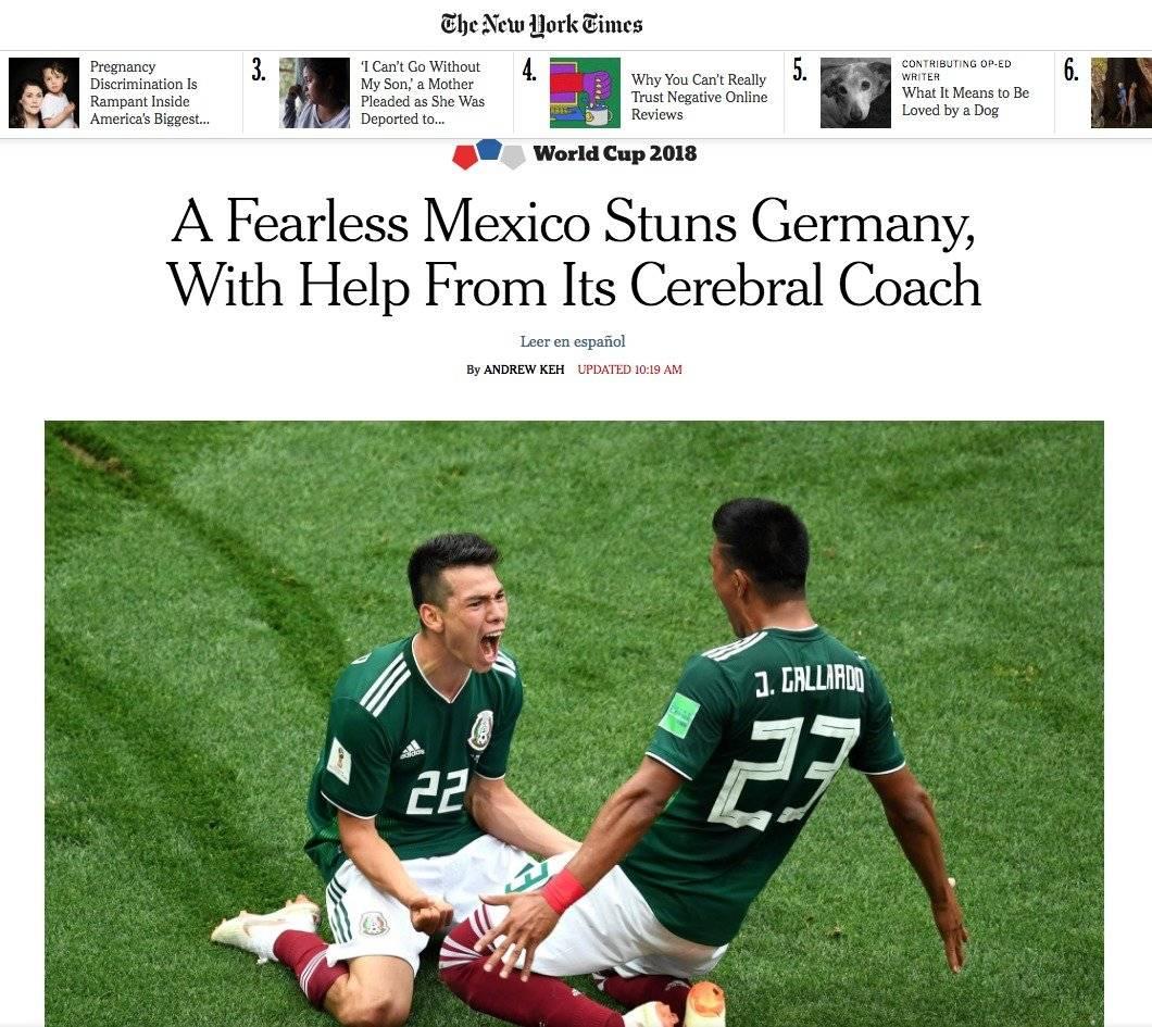 The New York Times, Estados Unidos