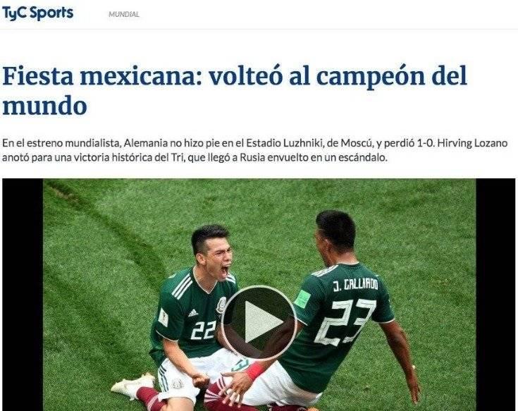 TyC Sports, Argentina