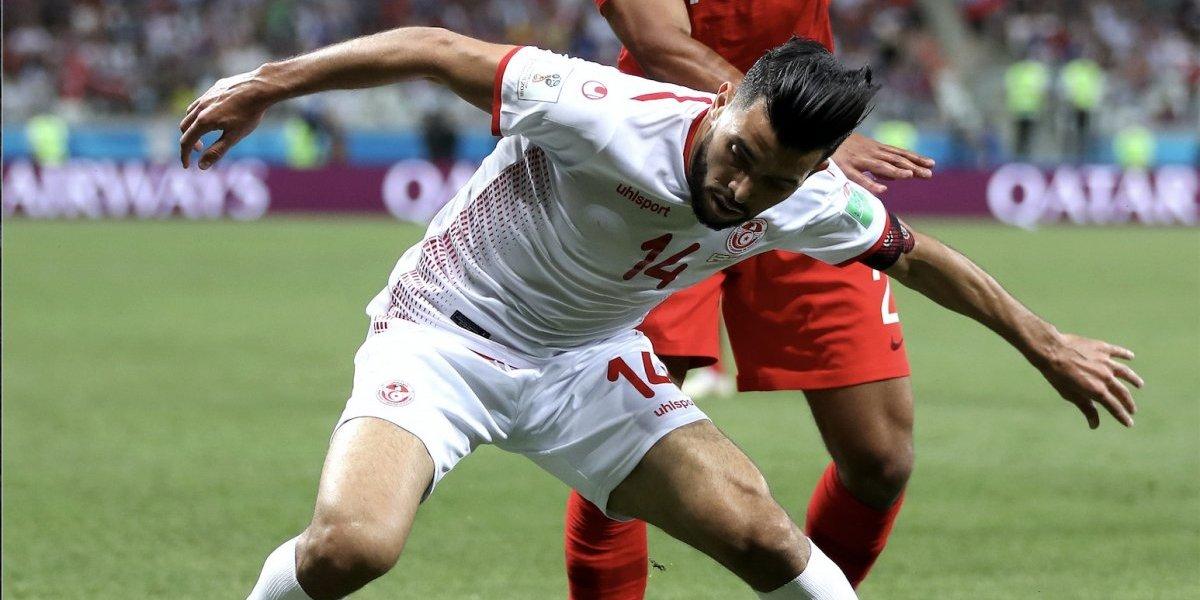 Futbolista de Túnez, el más amoroso de Rusia 2018