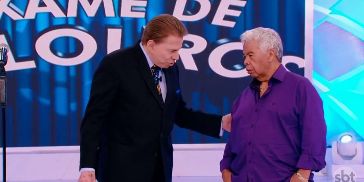 Roque, assistente de palco de Silvio Santos, está internado na UTI