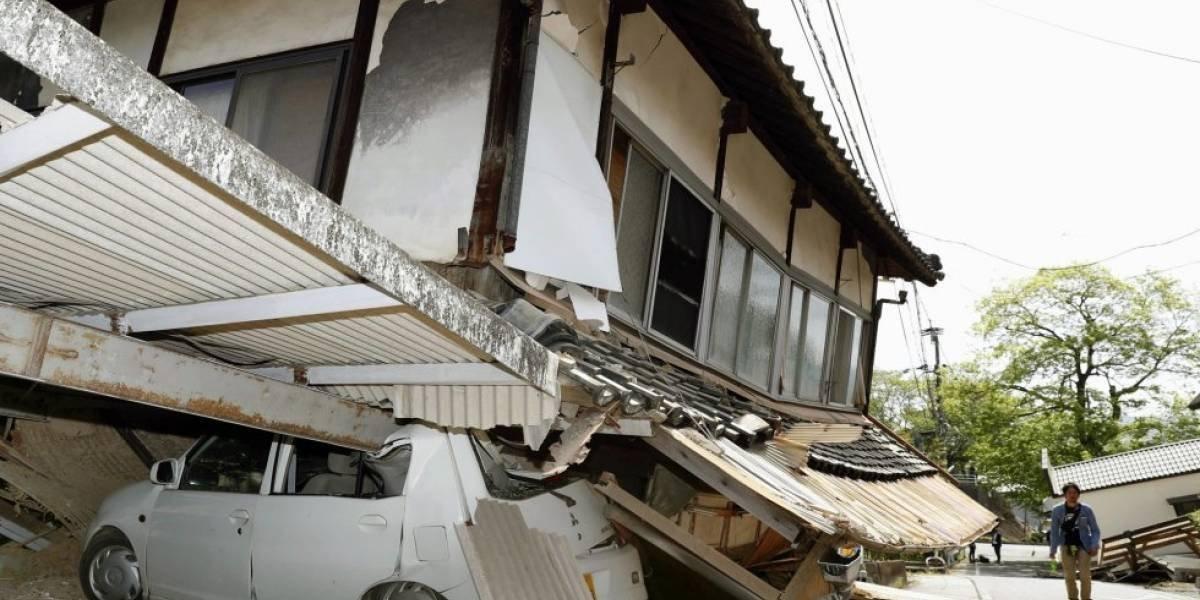 Sismo de 6.1 grados sacude a Japón