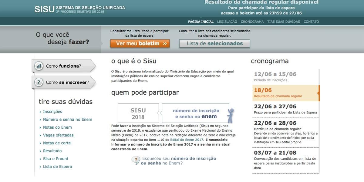Sisu: Veja como consultar o resultado pela internet