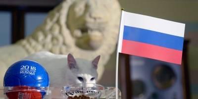 Aquiles le ha dado suerte a los rusos y su afición festejó la clasificación.