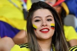 Aficionadas de Colombia y Japón