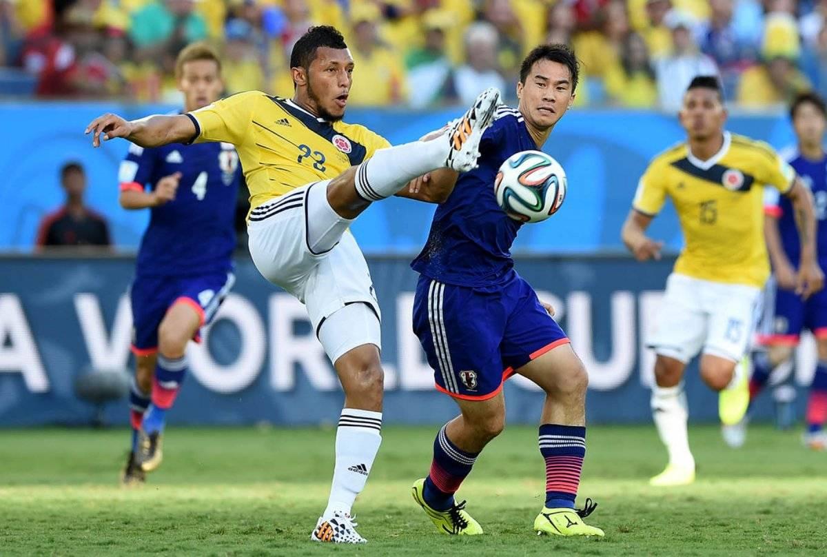 En el Mundial de Brasil 2014 los colombianos golearon a los japoneses.
