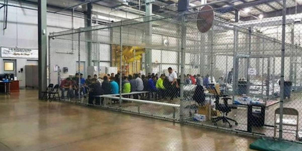 """Como são as """"jaulas"""" em que os EUA estão detendo filhos de imigrantes sem documentos"""