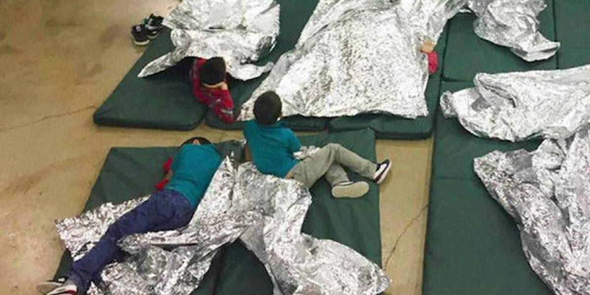 A comovente gravação que mostra o sofrimento das crianças separadas da família pela Imigração nos EUA