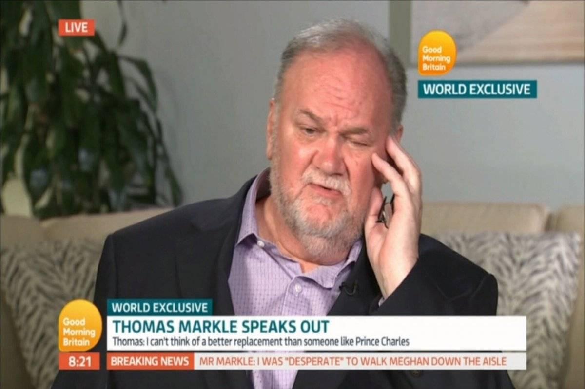 Thomas Markle entrevista