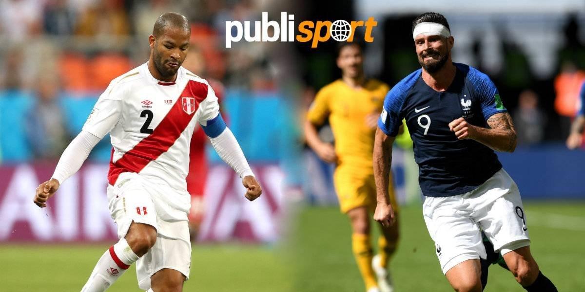 Francia vs Perú,  ¿dónde y a qué hora ver el partido?