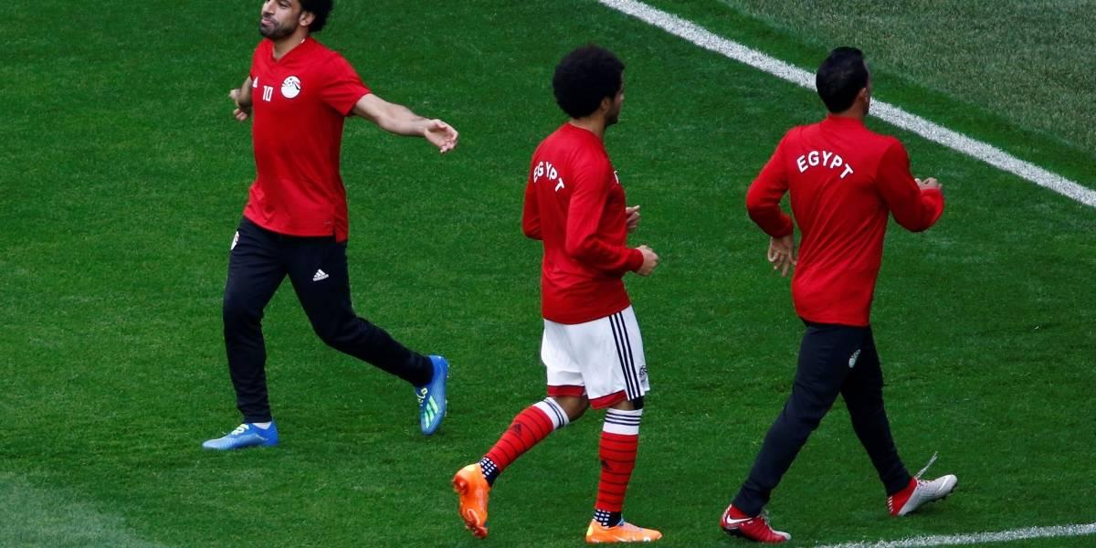 Salah pode estrear hoje em jogo decisivo entre Egito e Rússia