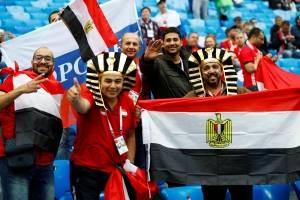 Torcida Egito Russia