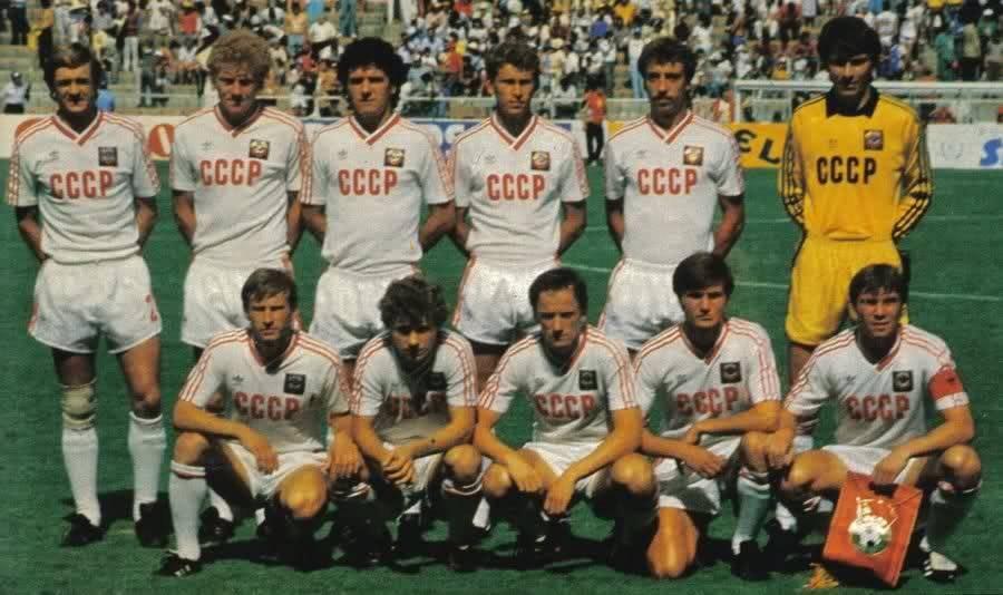 Este fue el último equipo de la Unión soviética que clasificó a los octavos de final de un Mundial.