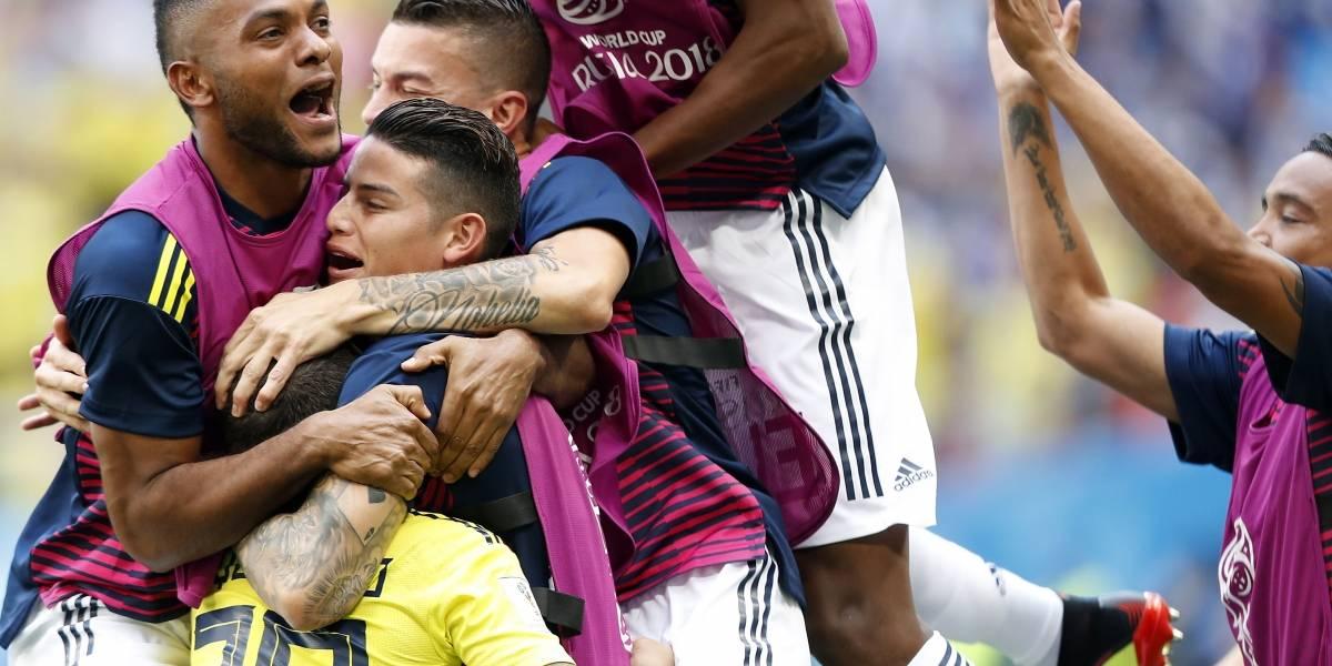 Exguerrilleros, soldados y víctimas gritaron juntos el gol de Quintero