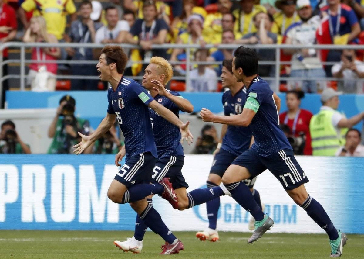 Colombia vs Japón: Japón gana 2-1 EFE