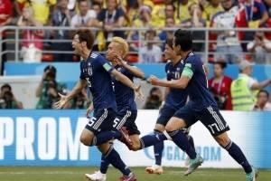 Colombia vs Japón: Japón gana 2-1