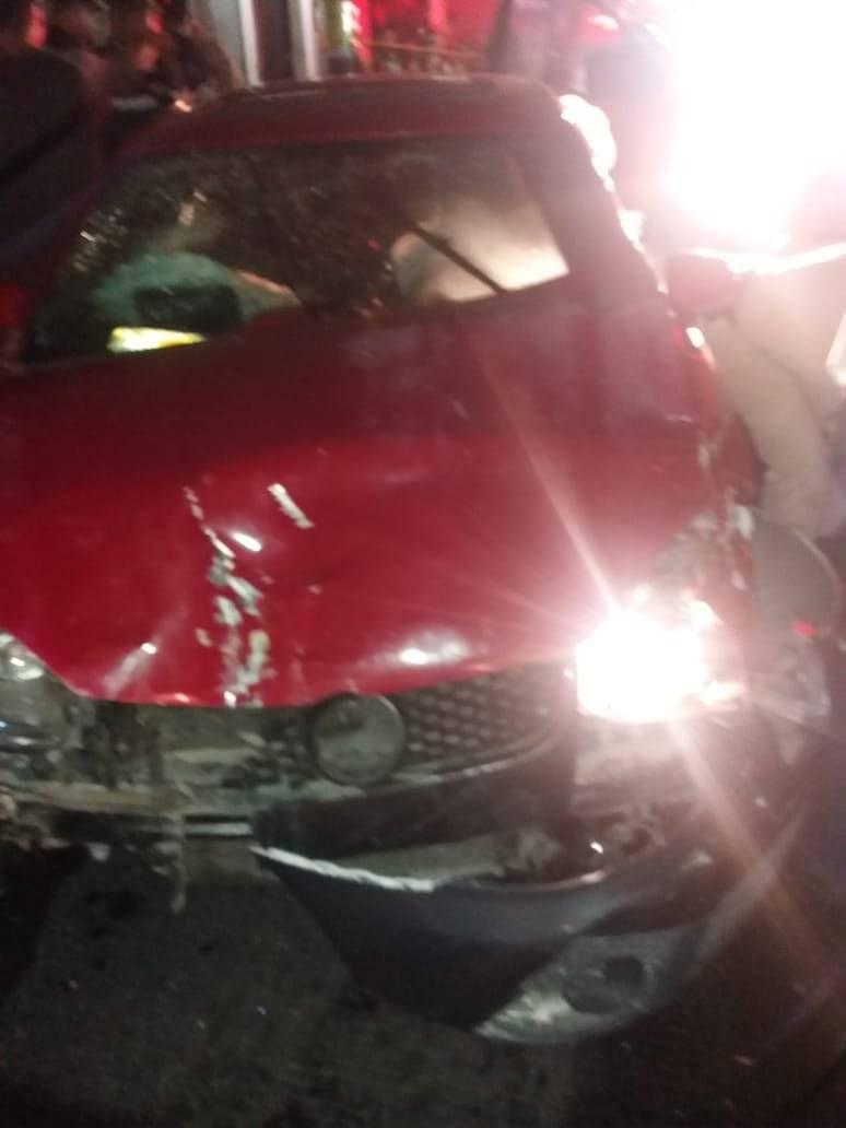 Captan en video fatal accidente vehicular en el Centro de Tlaquepaque