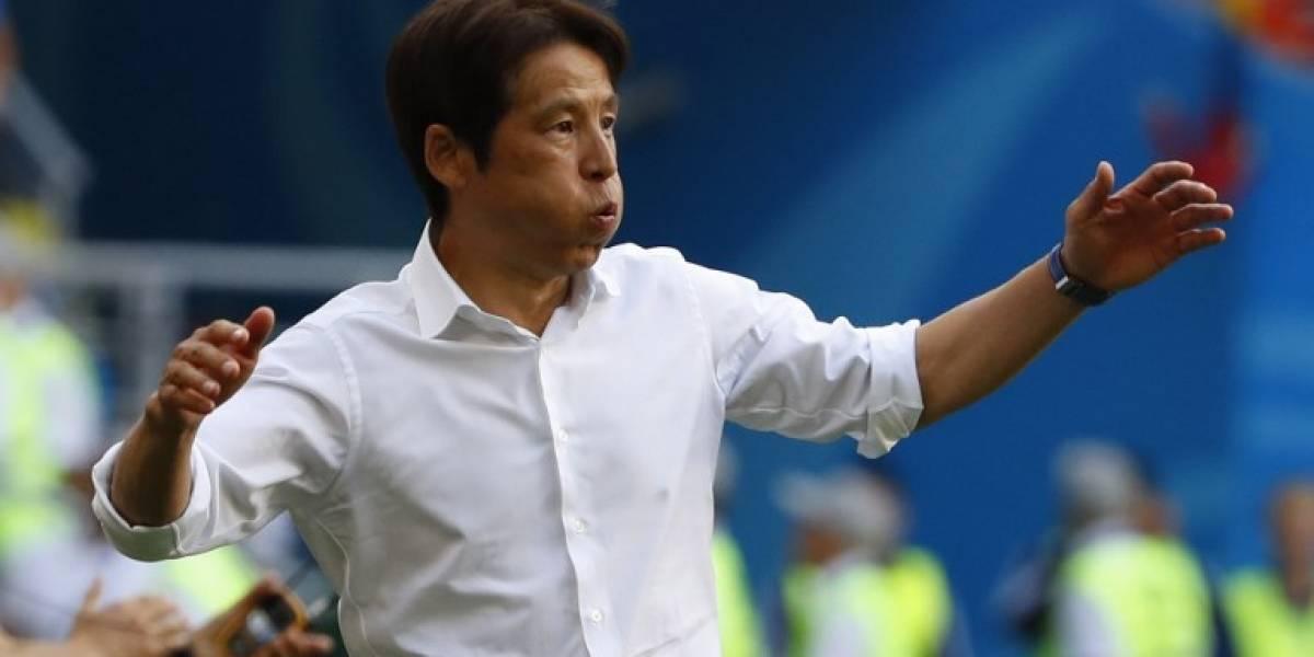 Con estas palabras el técnico de Japón reconoce que la expulsión fue su mejor aliado