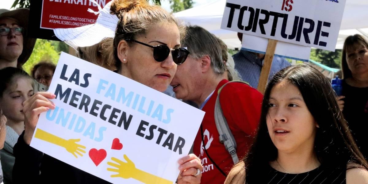 Pese a condena internacional, Trump defiende separar a niños migrantes de sus familias