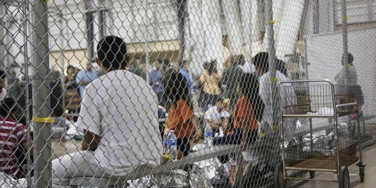 Como campos de concentración: las jaulas con las que Trump separa a niños inmigrantes de sus familias