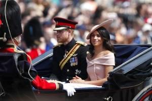 Meghan Markle y Harry esperan su primer hijo