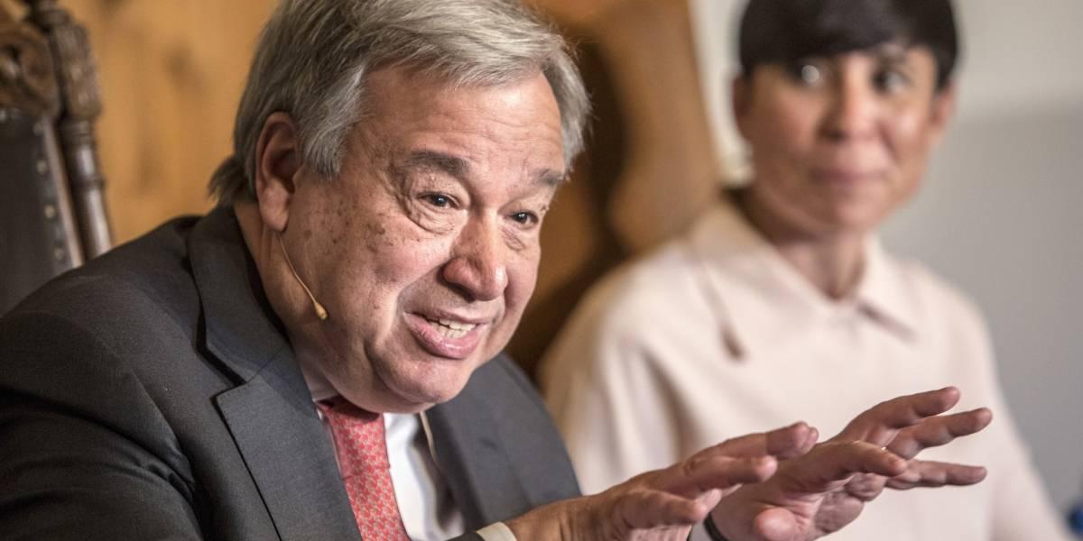 Jefe ONU alerta de una cifra récord de conflictos armados