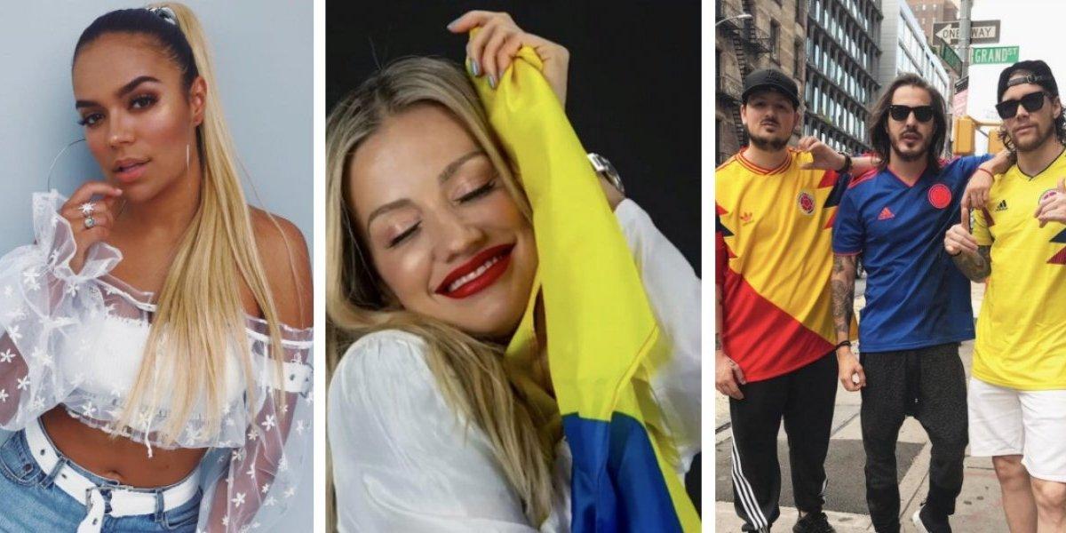 Así reaccionaron los famosos ante la derrota de la selección de Colombia