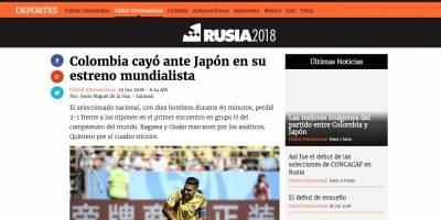 La reacción colombiana