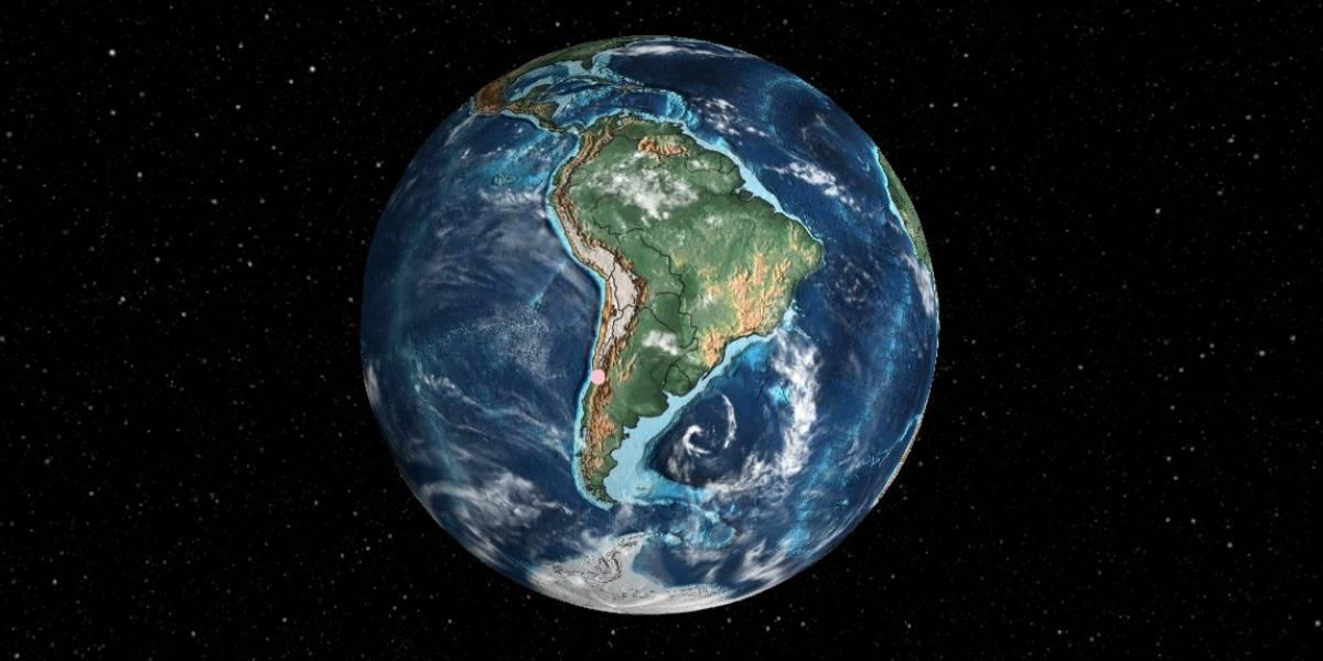 ¿Dónde estaba Santiago hace 600 millones de años? La app que te lleva a conocer el mundo en el pasado