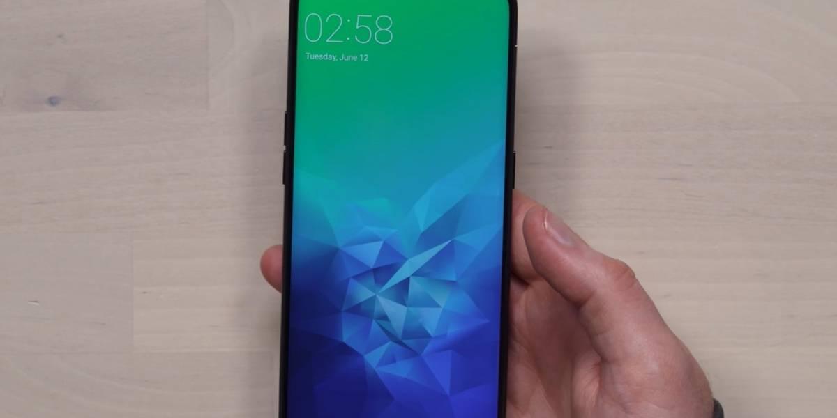 El Oppo Find X se presentó hoy y es el móvil más futurista a la fecha