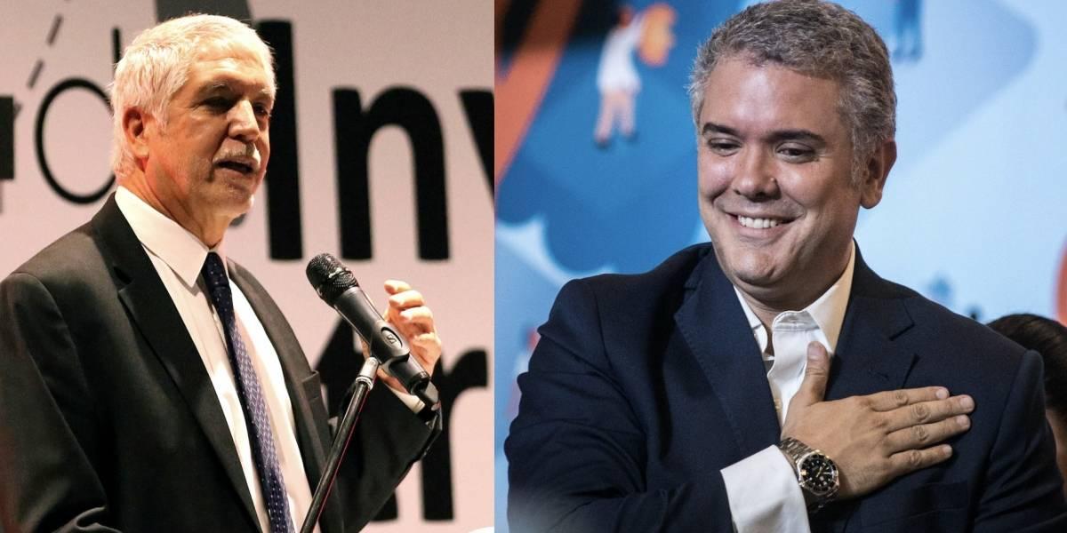 Iván Duque y Enrique Peñalosa, ¿alianza por Bogotá?