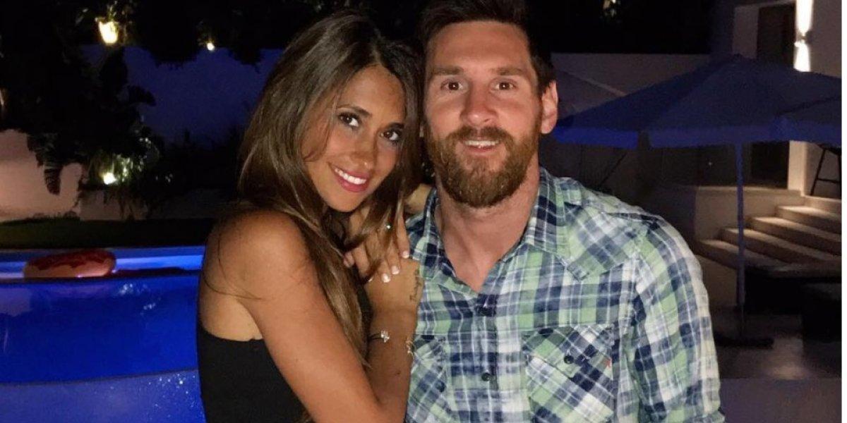 Antonella Roccuzo publica mensaje de consuelo para Messi
