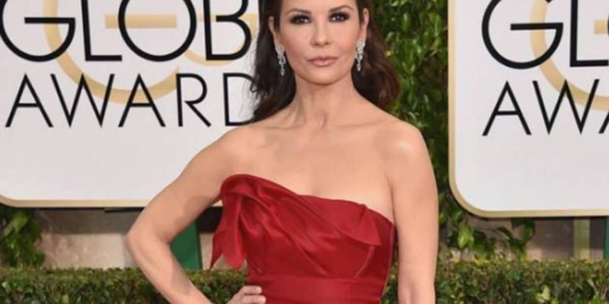 Actriz colombiana deja impresionada a Catherine Zeta-Jones