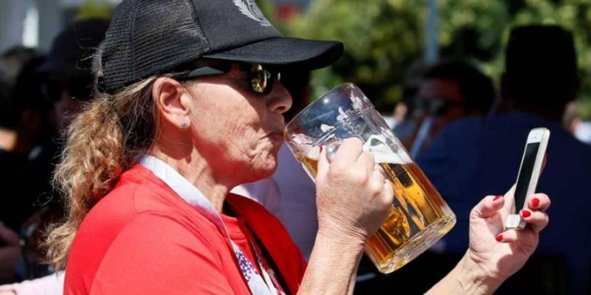 Moscou está com baixos estoques de cerveja para torcedores da Copa
