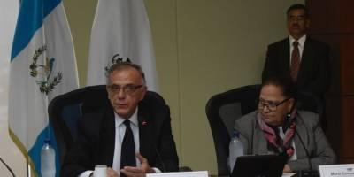 Conferencia de prensa del MP y Cicig