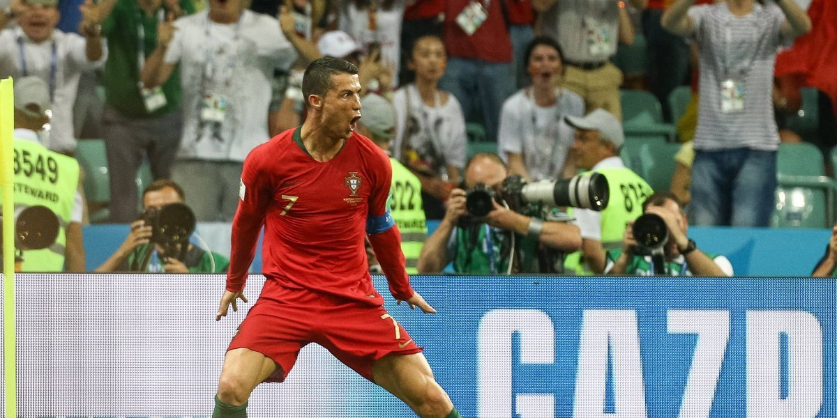 De la mano de Cristiano, Portugal va por su primer triunfo contra Marruecos
