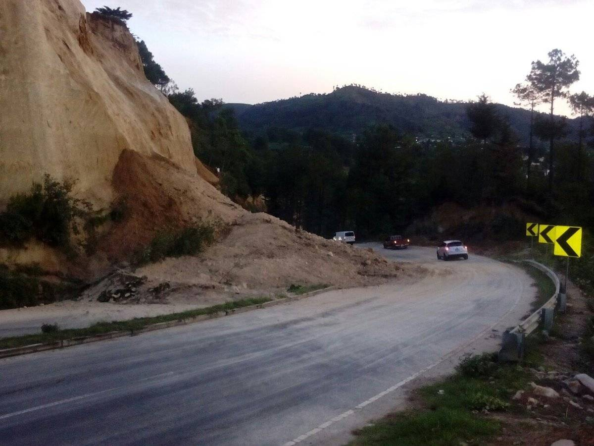derrumbe en Sololá