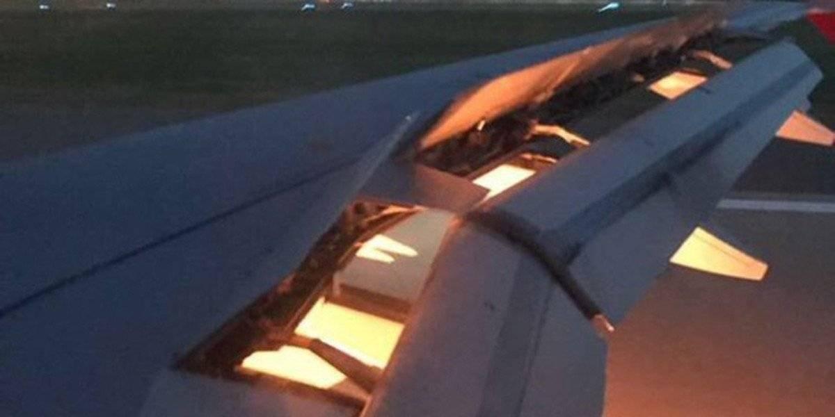 Avión que trasladaba a Arabia Saudita sufre incendio durante aterrizaje