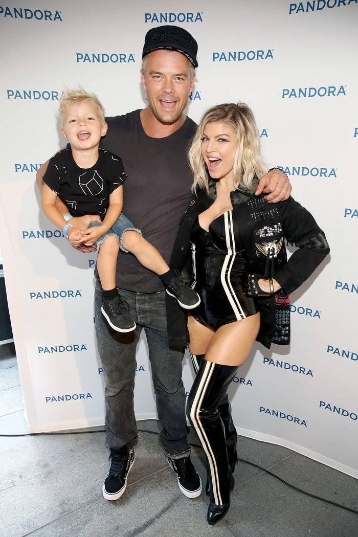 Josh Duhamel, Fergie y su hijo