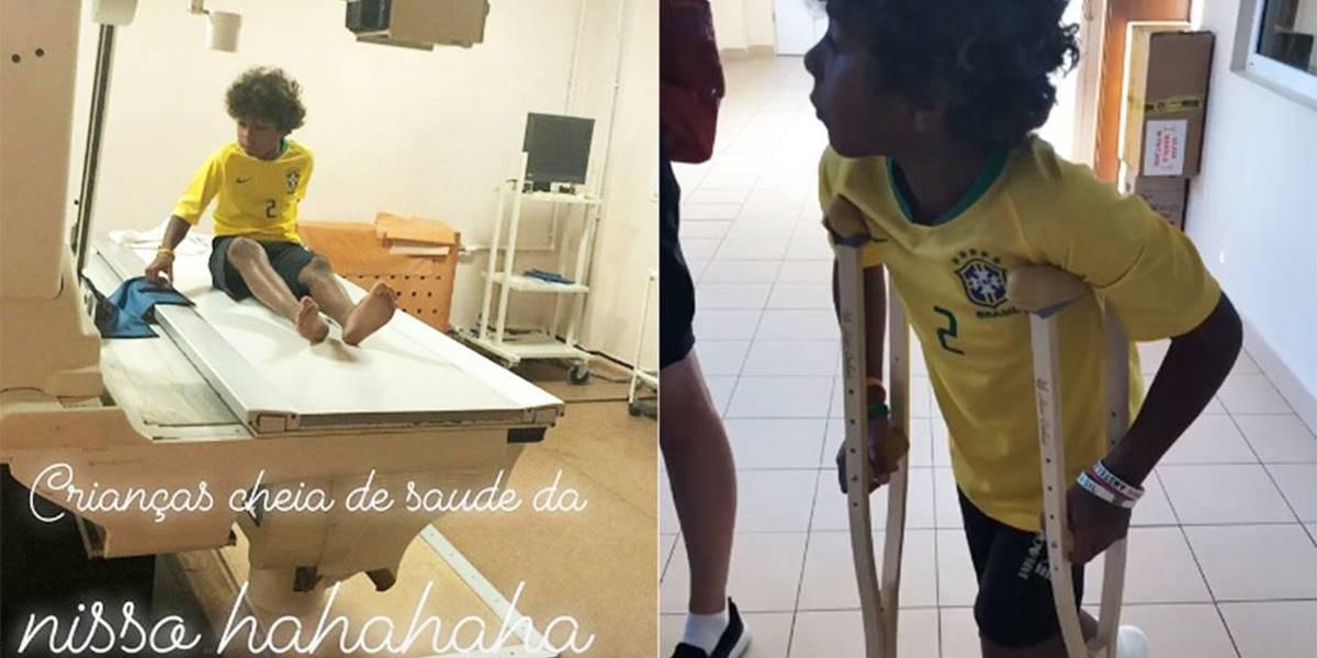 Mulher de Thiago Silva passa sufoco para entrar no treino da Seleção