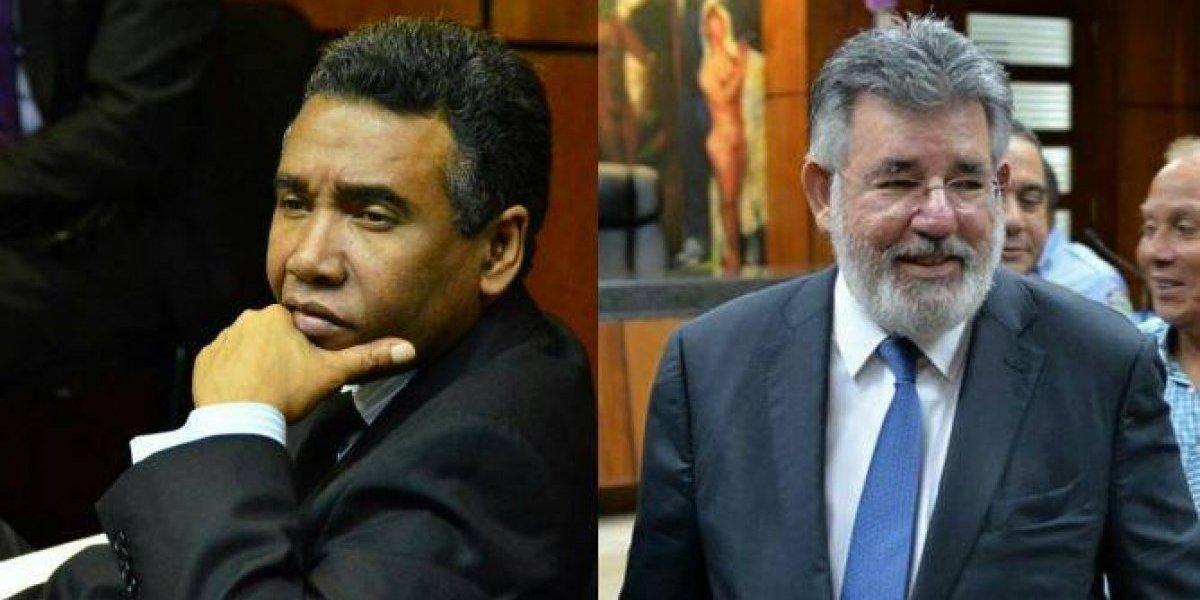 PLD suspende provisionalmente a Félix Bautista y Víctor Díaz Rúa