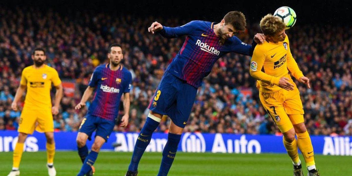 """Barcelona en guerra con Piqué por """"caso Griezmann"""""""