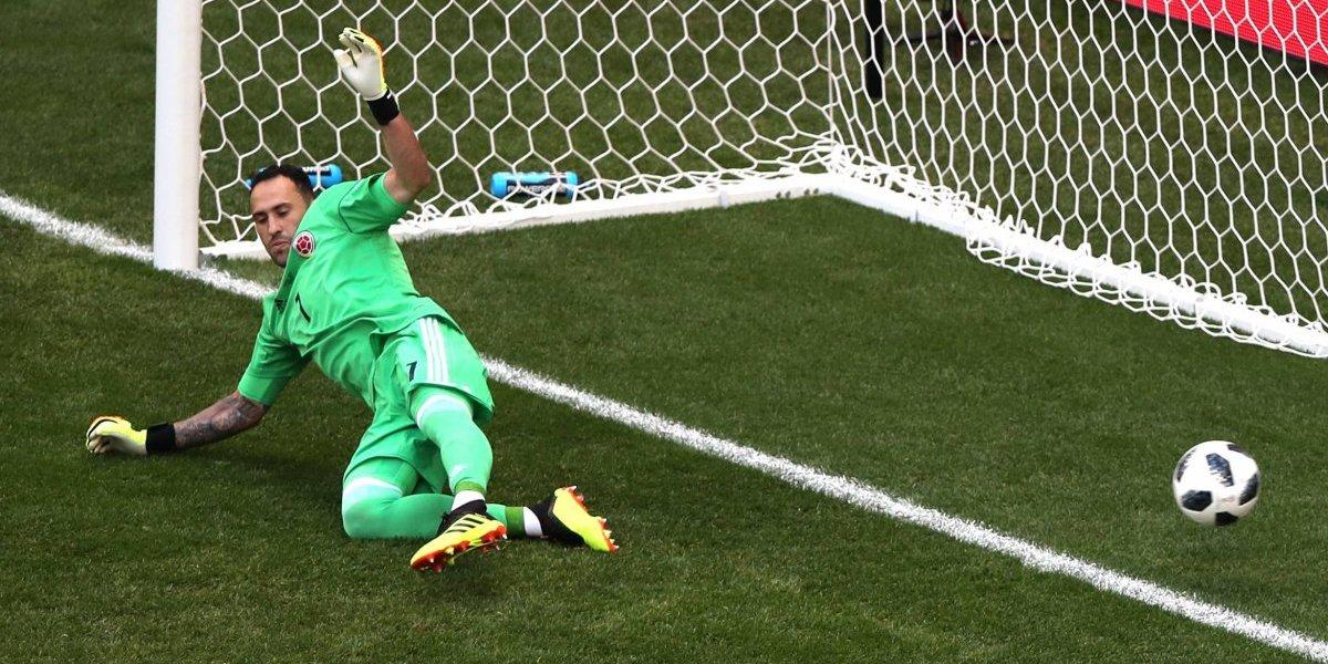 El pésimo récord de David Ospina con la selección de Colombia