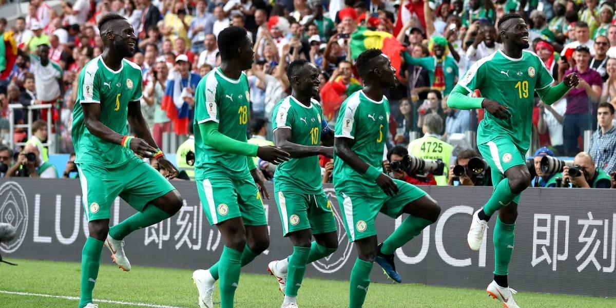 Senegal sorprende a Polonia y obtiene triunfo