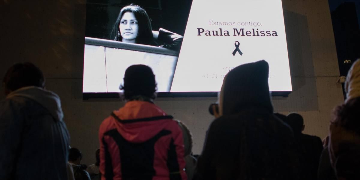 Sentido homenaje en Bogotá a Melissa Aguirre, la joven universitaria asesinada por su novio