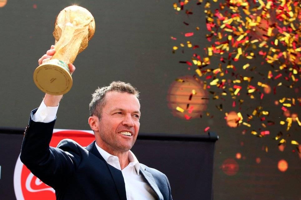 Lothar Matthäus fue campeón del mundo con Alemania en Italia 1990 / Foto: AP
