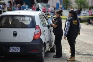 asesinan a taxista en Boca del Monte