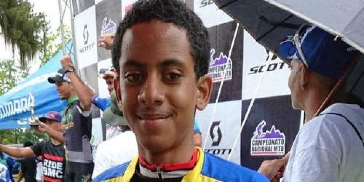 Roneivi Marte retiene título campeonato nacional mountain bike
