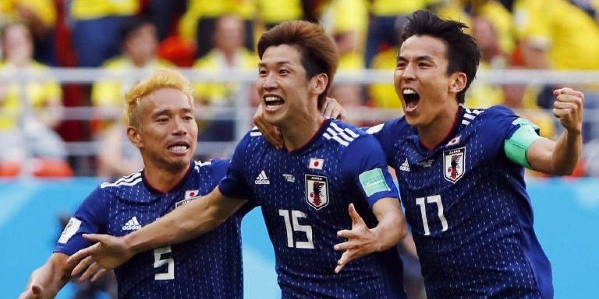Japón le pega a Colombia, que decepciona en su debut
