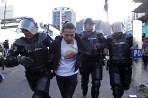 En las afueras de la Corte Nacional la prensa fue atacada