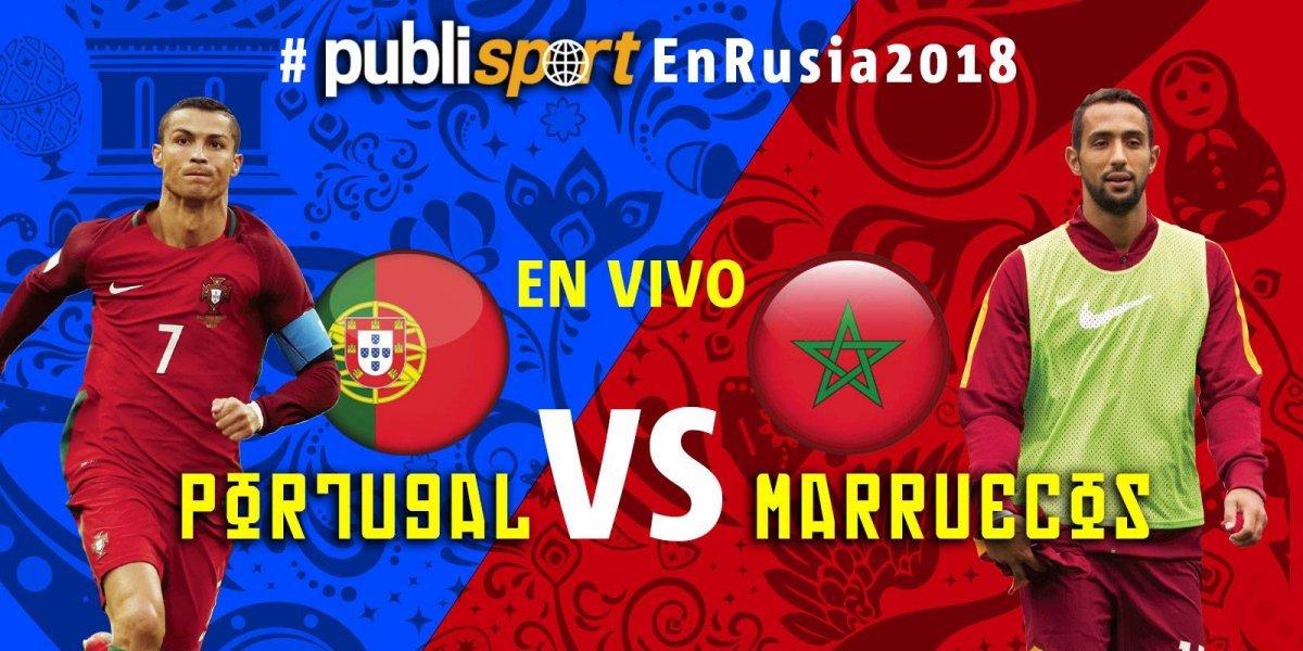 Portugal vence por 1-0 a Marruecos y lo deja matemáticamente eliminado